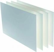 Canson C205154602 Confezione 25 Fogli Carton Mousse 70X100 cm 5mm Bianco