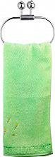 Carbonari 810 Porta asciugamani bagno da Parete Anello colore Cromo  Serie Diana