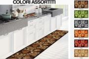 Carillo Home AX0104LAGOS Tappeto Cucina Antiscivolo 57x280 cm colori Assortiti Lagos
