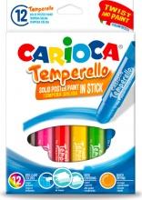 Carioca 42738 Confezione 12 Temperello Assortiti