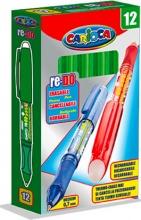 Carioca 4323804 Confezione 12 Penna Cancellabile Redo Verde