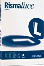 Favini A690104 Risma Carta A4 100 Fogli Rismaluce Bianco