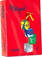 Favini A71C504 Risma Carta Colorata A4 500 fogli Rosso Le Cirque