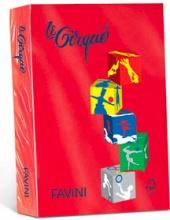 Cartotecnica Favini A74C304 Carta inkjet A4 210x297 mm 250 fogli Rosso