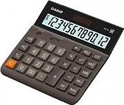 Casio DH-12BK Calcolatrice da Tavolo 12 cifre Solare e a batteria