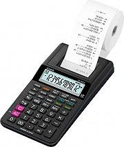 Casio HR-8RCE BK Calcolatrice Scrivente 12 cifre Batteria colore Nero - HR-8RCE