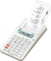 Casio HR-8RCE-WE Calcolatrice Scrivente 12 cifre Batteria colore Bianco HR-8RCE