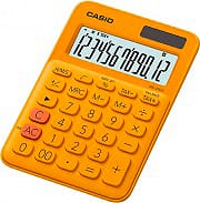 Casio MS-20UC-RG Calcolatrice da Tavolo 12 cifre Alimentazione solare e a batteria MS-20UC
