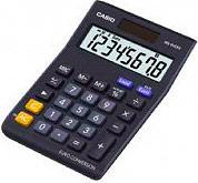 Casio Calcolatrice tavolo 8 Cifre col Nero MS-8VERII