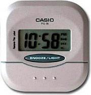 Casio PQ-30-8EF Sveglia Digitale con Display colore Acciaio  Silver