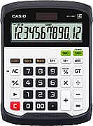 Casio WD-320MT Calcolatrice Finanziaria 12 cifre BatteriaSolare
