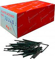 Cavatorta 10x40 Chiodini Gruppini in Acciaio Numero 10 lunghezza 40 mm confezione 1 kg