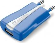 Cellular Line ACHUSBCOMPACTCB Alimentatore Caricabatteria Universale rete USB