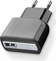 Cellular Line ACHUSBMOBILE2AK Caricabatterie da Rete Universale 1 USB Nero