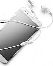 Cellular Line AUCLASSICW Auricolari Stereo Cuffie Cuffiette con Microfono Bianco