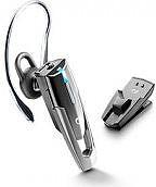 Cellular Line Auricolare Bluetooth Ricaricabile con Clip Nero - BTCLIPDOCK