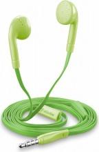 Cellular Line BUTTERFLYSMARTG Cuffie auricolari Stereo con Microfono Verde