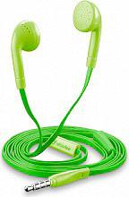 Cellular Line Cuffie auricolari Stereo con Microfono Verde - BUTTERFLYSMARTG