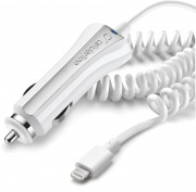 Cellular Line CBRMFIIPH2AW Caricabatterie Auto Lightning Apple Col. Bianco