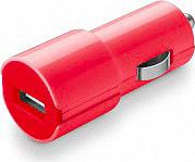 Cellular Line Caricabatterie auto Universale USB smartphone Rosa CBRUSBSMARTP