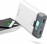 Cellular Line Caricabatterie portatile Smartphone 10000mAh 2 USB FREEP10000W