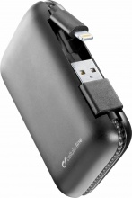 Cellular Line FREEPCAB5MFIIPHK PowerBank 5000 mAh Lightning Nero Apple