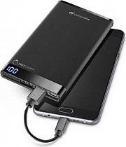 Cellular Line Caricabatterie Portatile Smartphone 6000 mAh 2 USB FREEPMANTA6000K