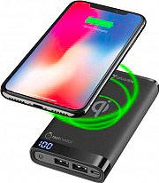 Cellular Line FREEPMANTA8WIRK Caricabatterie Portatile Power Bank 5000 mAh Wireless Nero 8WIRK