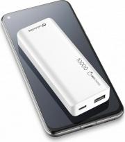 Cellular Line FREEPSLIM10000W PowerBank 10000 mAh Slim Bianco Universale