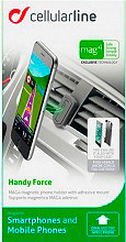 Cellular Line MAG4HANDYFORCE Supporto auto smartphone Universale iPhone Mag4