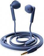 Cellular Line MANTISB Cuffie Stereo Auricolari con Microfono colore Blu