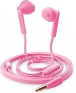 Cellular Line Cuffie Stereo Auricolari con Microfono colore Rosa - MANTISP