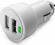 Cellular Line MICROCBRUSBDUAIPAD Caricabatterie Auto USB Dual USB Car Charger