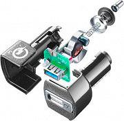 Cellular Line QC CBRHUUSBQCK Caricabatterie Auto USB Car Charger