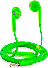 Cellular Line SLUGSMARTG Auricolari con Microfono a filo Verde  Slug