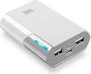 Cellular Line SYPB7500W Power Bank Caricabatterie Portatile 7500 mAh Bianco