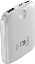 Cellular Line SYPBHD5000W PowerBank 5000 mAh E-Tonic 5K HD White Universale