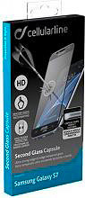 Cellular Line Pellicola vetro temperato Samsung Galaxy S7 TEMPGCAPGALS7K
