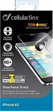 Cellular Line Pellicola protettiva Vetro Smartphone iPhone 6S TETRAGLASSIPH647S