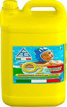 CHEMICAL 02LI0050 Igienizzante per piscine SENZA Cloro Multiattivo 5 litri