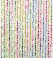 Ciampi 56M4 Tenda Moschiera in PVC 177 fili 120 x 240 h colore Multicolor  Elba