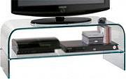 Ciatti Mobile porta TV moderno Cristallo 2 Ripiani GLASS 110