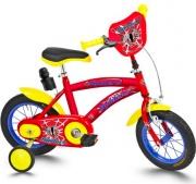 """Cicli Roveco 801 Bici Bambino 12"""" Spider con borraccia Rosso"""