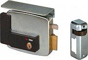 CISA 11721801 Serratura Elettrica Porta Cilindro Interno Entrata 80 mm Dx+3 Ch.