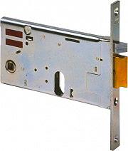 CISA 14451700 Serratura Elettrica Porta da Infilare 20 mm Autobloccante 70 mm