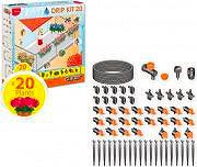 Claber Set Irrigazione Giardino Balcone per 20 Piante - Drip Kit 20 - 90764