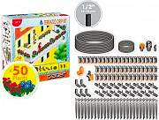 Claber Set Irrigazione Giardino Balcone per 50 Piante Terrazzo Drip Kit - 90772