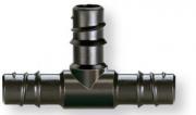 """Claber 91071 Raccordo 3 vie per tubo giardino irrigazione 12"""" (13 - 16 mm) 2 pz"""