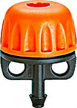Claber 91225 Gocciolatori per tubo capillare regolabile 0-40 lth set 10 pz