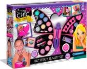 Clementoni 15994 Butterfly Beauty Set 4in1 Gioco da Tavolo Makeup Set  Crazy Chic
